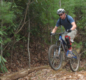 "My first real ""mountain bike ride"" Raspberry trail, Pisgah NF, NC"