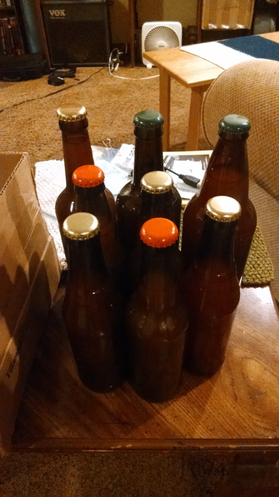 Bottled Hard Apple Cider! This shit ain't Mike's....